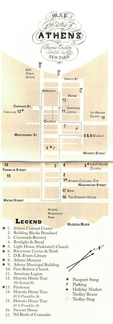 Athens-Stroll-Map